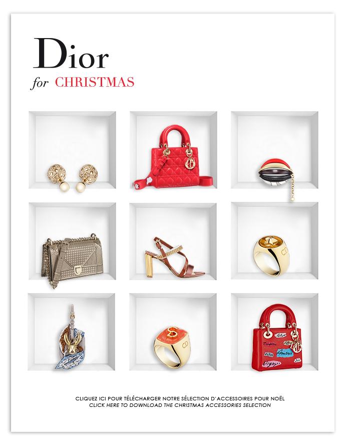 newsletter christmas dior