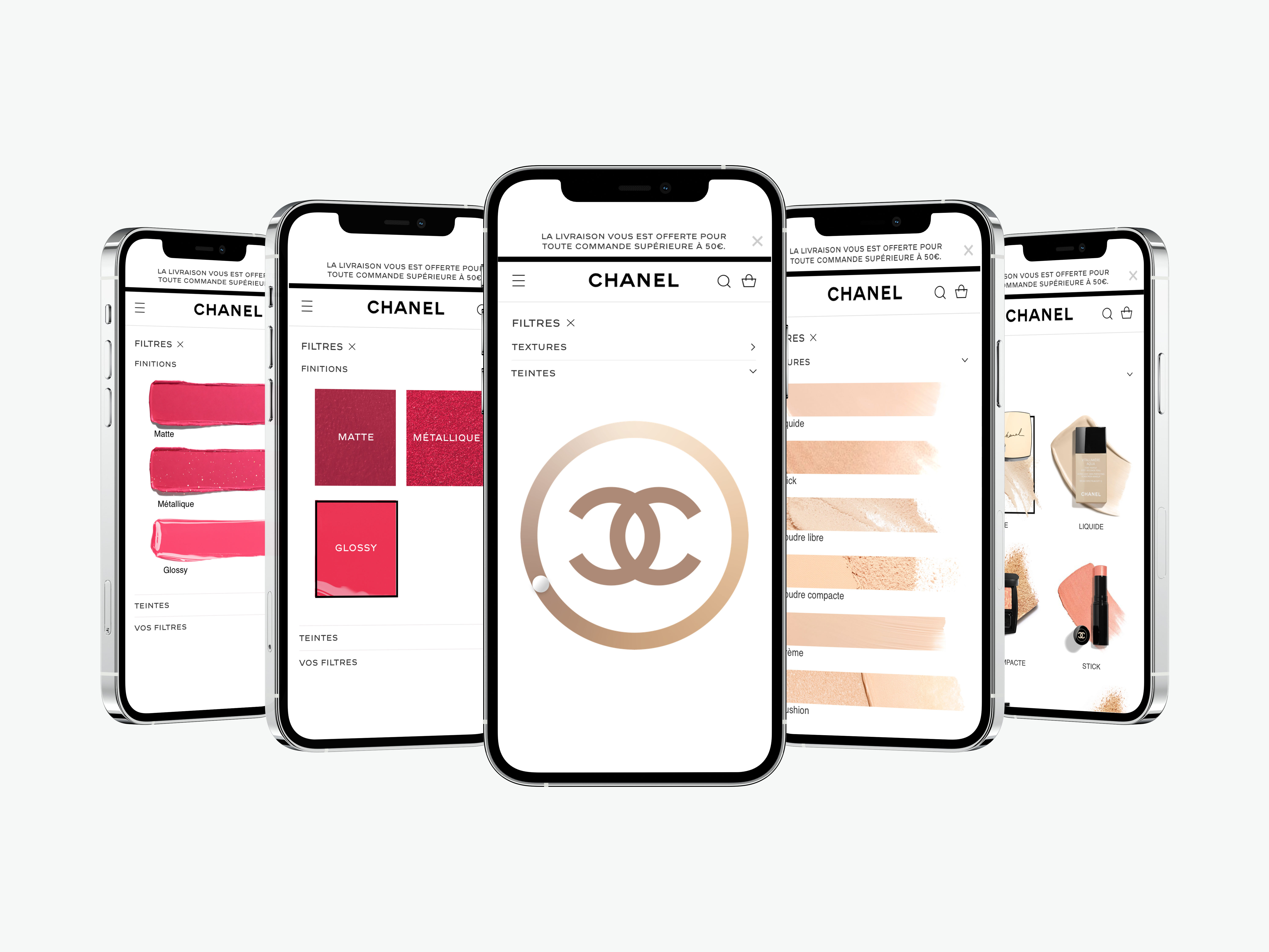 chanel visual filters